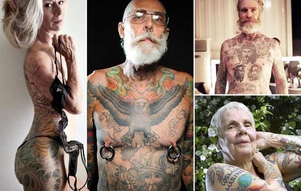 gamle x nakene folk