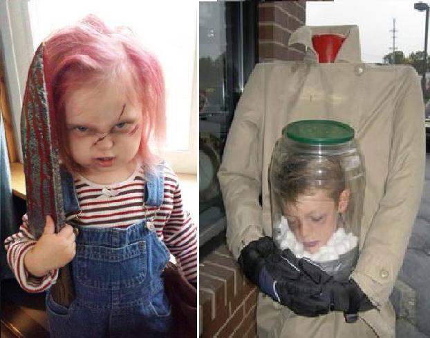 De Absolutte Mest Skremmende Halloween Kostymene For Barn