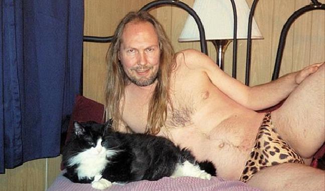 mest sexy mannlige modeller med verdens soteste katter
