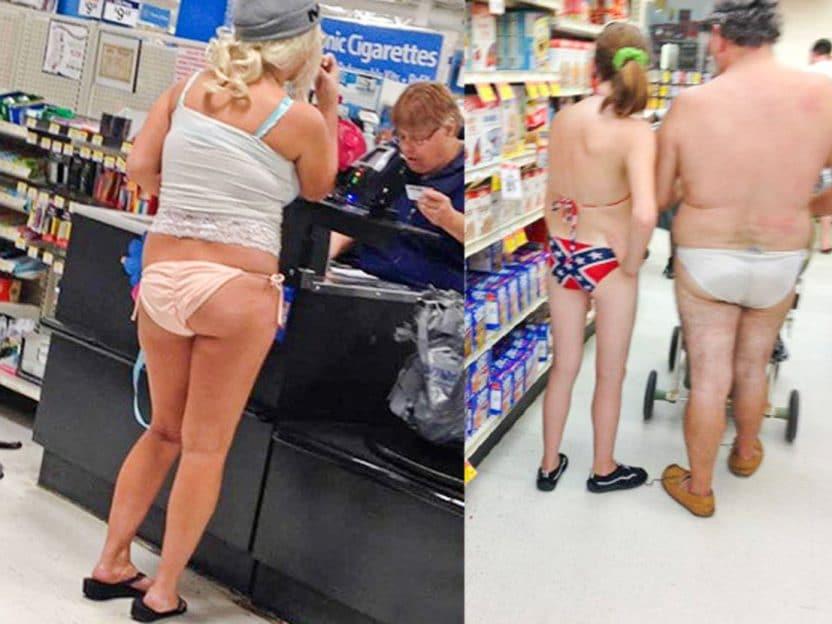 ROMPEballer i MATEN 1 - Er det greit å shoppe i bare trusa?