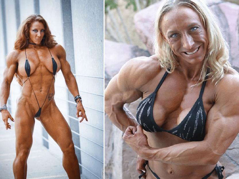 Ekstreme kvinnelige bodybuildere. Sexy eller lite pent?
