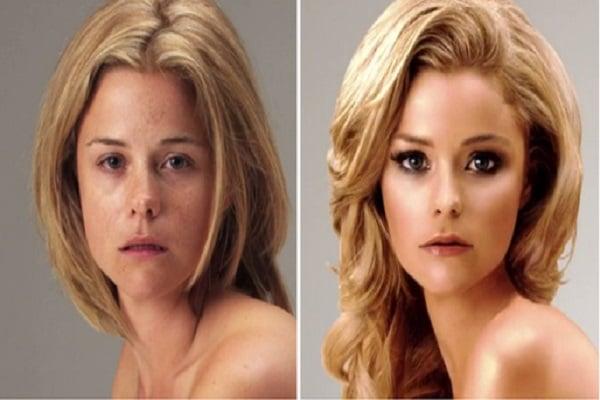 16 Før og etter bilder av ekstremt photoshoppet folk