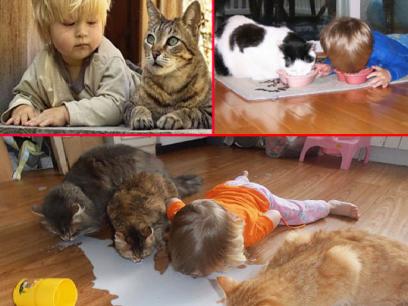 15 forvirrede barn som tror de er dyr