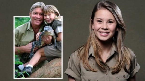 Avdøde Steve Irwins datter Bindi har blitt stor og følger arven fra sin far