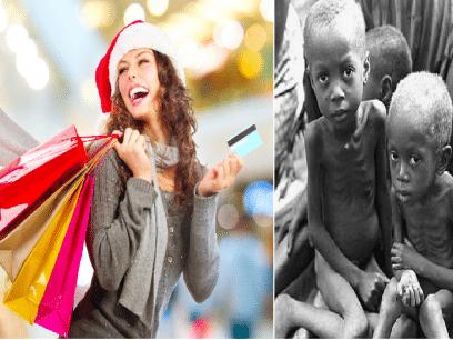 SISTE NYTT: Heidi fikk kjøpt jakke til 70% mens 100.254 barn døde av sult!