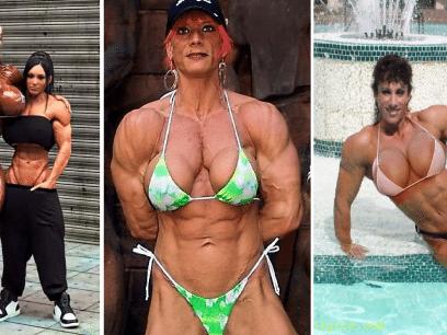16 jenter som tok bodybuilding til det EKSTREME!