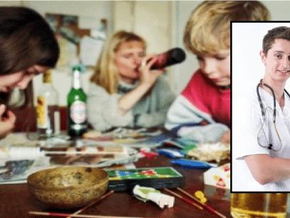 Norsk overlege: Barn har godt av å se foreldrene fulle i sommerferien!