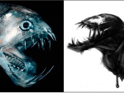 10 SKREMMENDE fisker som inspirer til skrekkfilm og Halloween!