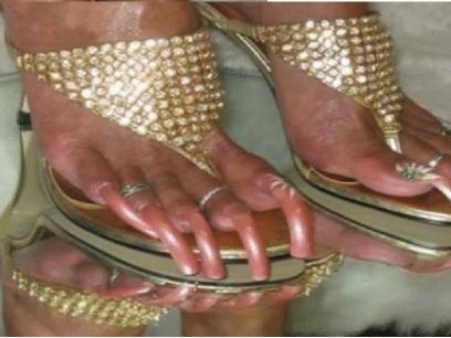 20 hotte bilder som beviser at tånegler er RÅSEXY!