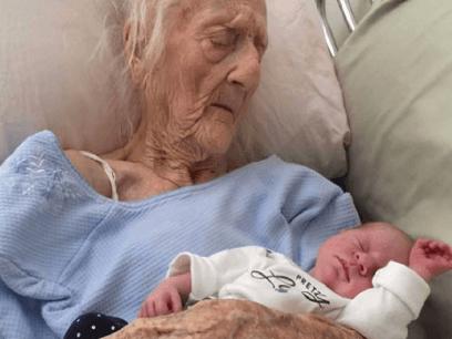 SISTE NYTT: Norsk 101 år gammel dame fødte en datter. Vant 12 millioner kroner