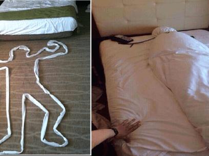 NY TREND: Slik skal du forlate hotellrommet ditt!