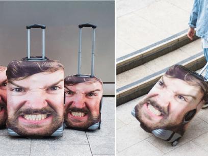 Nå kan du kjøpe deg et morsomt og personlig deksel til kofferten din