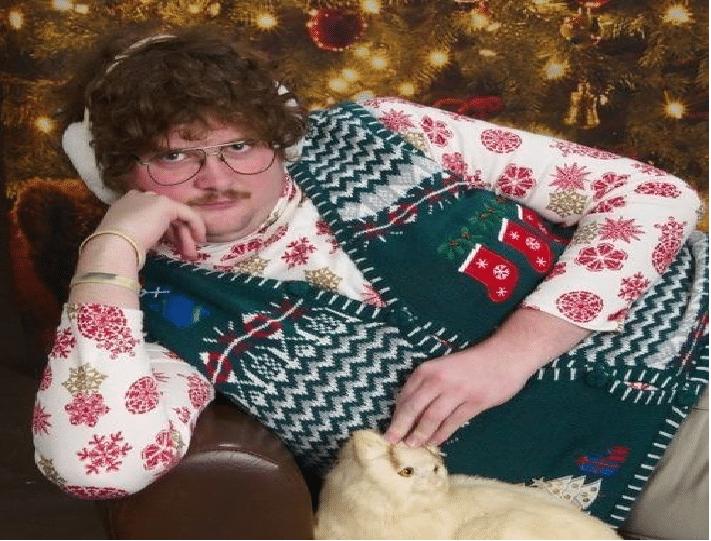 Lars-Ronny (29) søker jente for julefeiring og er åpen for julesex hvis han må