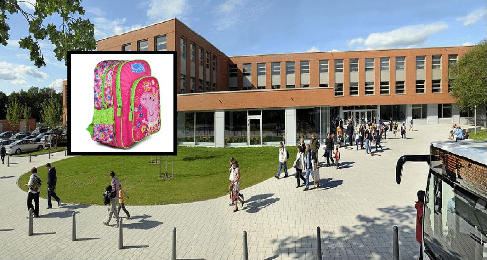 AKKURAT NÅ: Skolejente fra Bærum hadde ransel fra Europris. Ble banket opp!