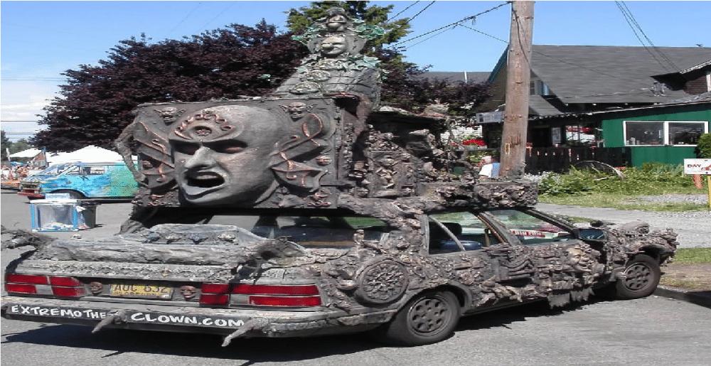 26 sinnsykt rare biler du IKKE trodde var mulig å kjøre rundt i!