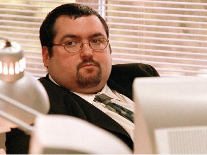 Mann ertet av kolleger på jobben etter å ha blitt skikkelig tjukk i løpet av sommerferien