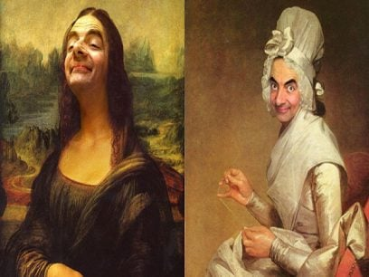 12 historiske malerier som blir fantastiske med MR. Bean