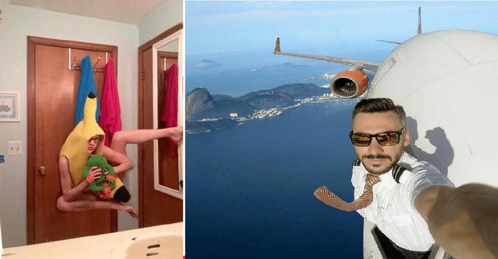 20 GRUSOMME og totalt uforklarlige selfies!