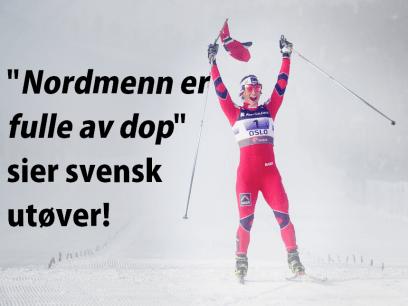 Svensk skiløper vil banke opp norske skiløpere med hammer!