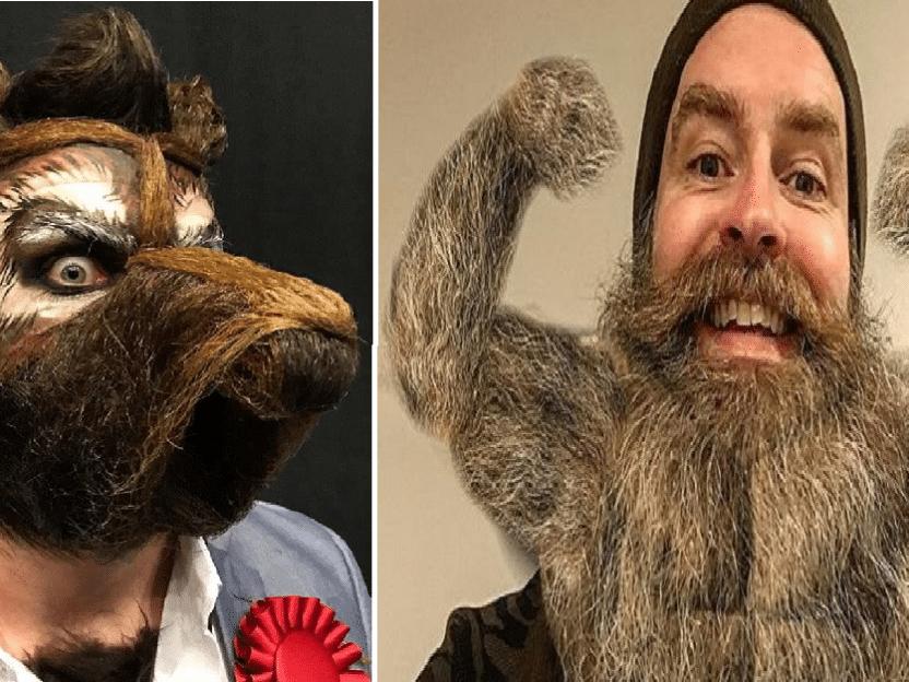 14 morsomme skjegg fra VM i skjegg