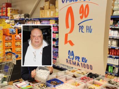 Tord (27 år) ble syk etter å ha spist 3 kilo smågodt. Nå anmelder han Rema1000!
