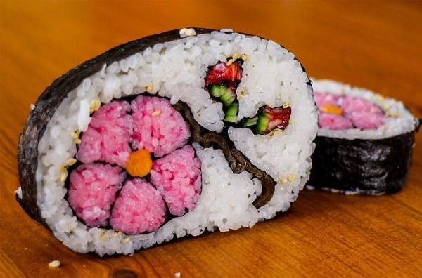 Verdens søteste sushi.