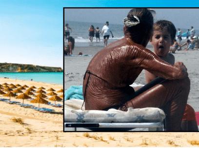 SAKSØKER REISEBYRÅ: Fikk rynker etter altfor varm og solrik syden-ferie!