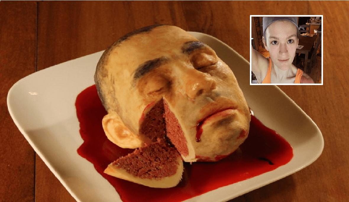 Sykepleieren Katherine lager verdens mest groteske kaker!