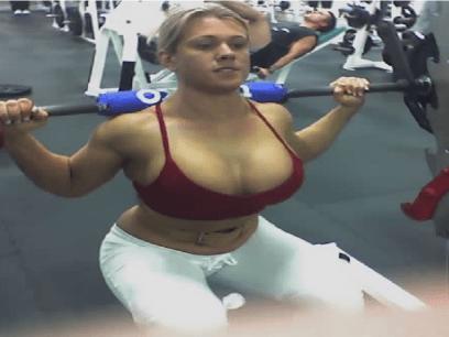 Heidi (27 år) er DRITTLEI perverse menn som glor på henne på treningsenteret!