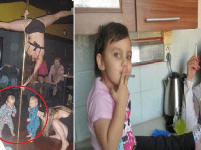 13 motbydelige foreldre som ALDRI skulle vært foreldre!