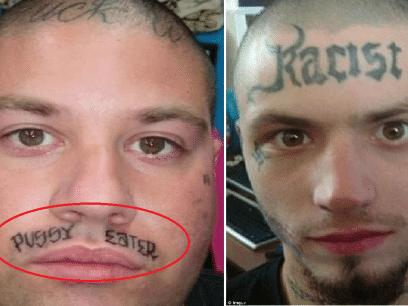 16 av verdens verste ansikts-tatoveringer du aldri trodde eksisterte