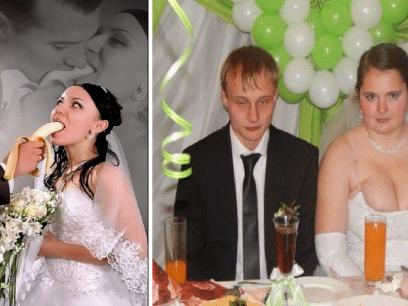 18 GRUSOMME bryllups-bilder du garantert ALDRI må ta