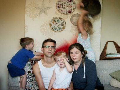 12 Bilder av hvordan det egentlig er å være foreldre.