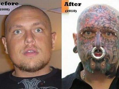 Bildene som beviser at skikkelig overdreven piercing er kulest?