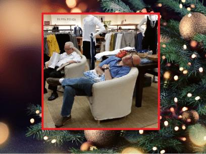 AKKURAT NÅ: Mann fikk illebefinnende etter 9 timer juleshopping med stresset kone