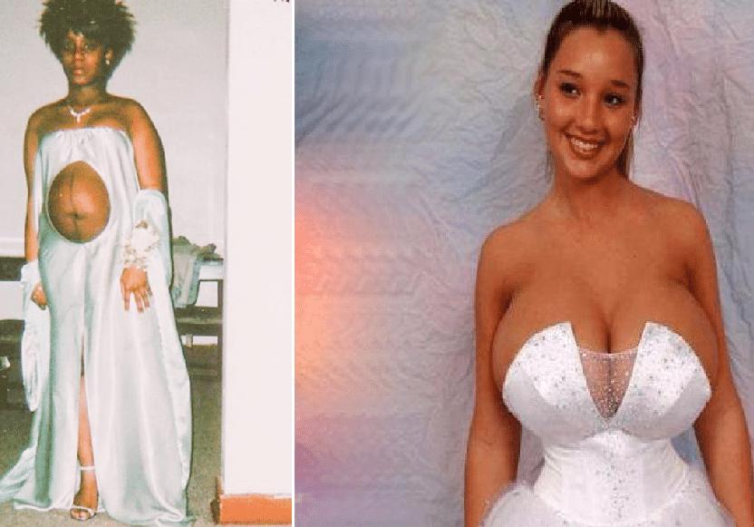 Verdens VERSTE brudekjoler