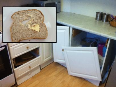 SISTE: Mann raserte kjøkken i sinne etter å ha ødelagt brødskiver med kaldt smør