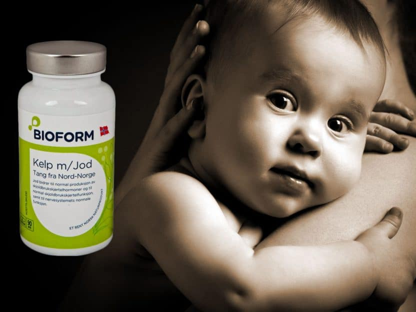 Opplev en lettere graviditet for både MOR og BARN - Gir bort en boks naturmiddel