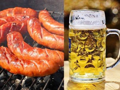 Nå kan du bli BERUSET på PØLSE - Her er den nye ØL-pølsa med 3,5% alkohol