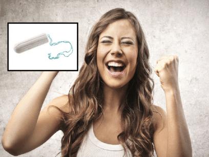 SISTE: Lanserer tamponger med lykkepille slik at jenter med mensen ikke skal være så sure hele tiden
