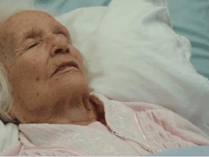 SISTE NYTT: Hypokonder (107 år) som alltid trodde hun skulle dø fikk rett til slutt