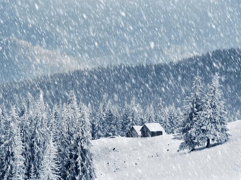 SISTE NYTT: Sommeren over. Allerede neste uke faller det snø over hele landet. Politiet anbefaler vinterdekk