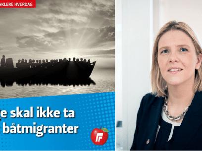 LISTHAUG SLÅR TILBAKE: