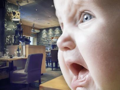 SISTE NYTT: Regjeringen forbyr gråtende babyer på norske restauranter