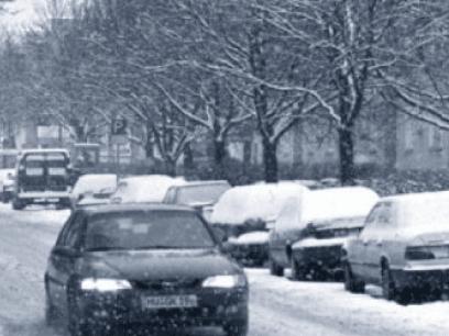 POLITIET ADVARER BIL SJÅFØRER: Mulig det kan komme snø også i år
