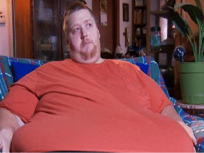 Odd ble nektet matservering fordi han var for tjukk.