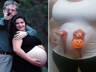 30 pinlige bilder av gravide som ALDRI skulle vært tatt