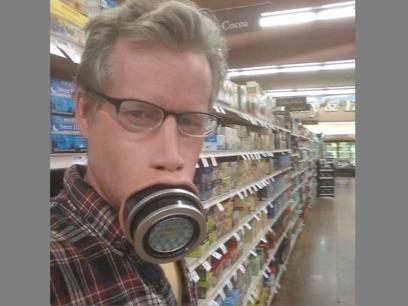 SISTE NYTT: Kjønns-opererte Lars (tidligere Britt) har utviklet en ansiktmaske for veganere med glutenallergi