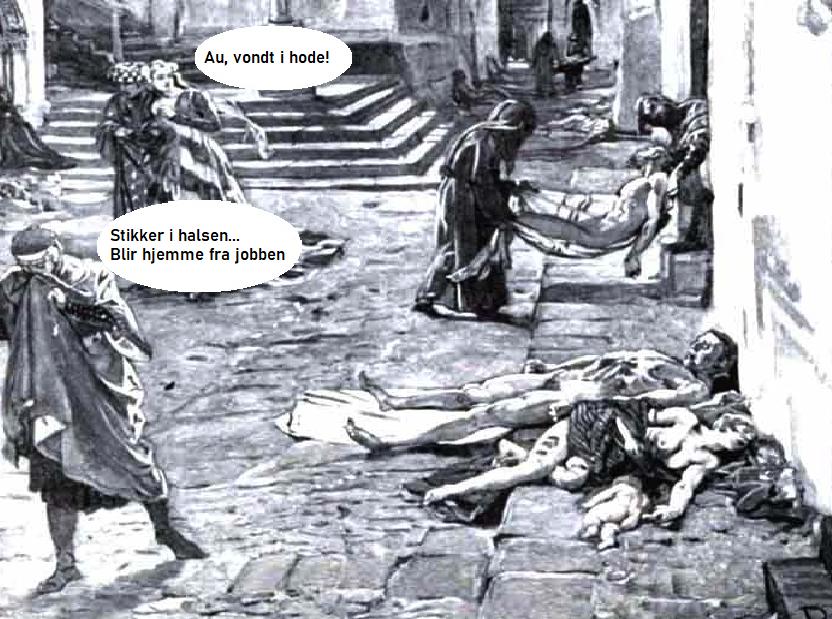 SISTE NYTT:  Smitte-eksperter mistenker at Corona-viruset kom til Norge allerede i 1349